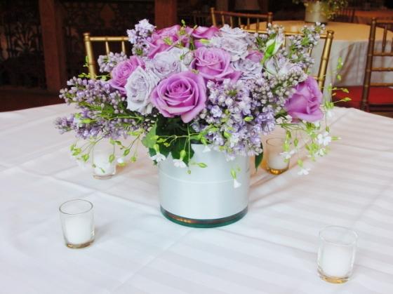 Lanvender centerpiece