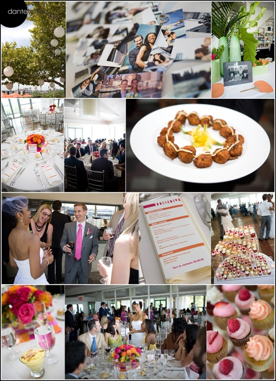 Battery Park Restaurant wedding
