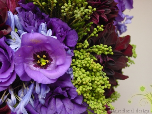Lisianthus close-up