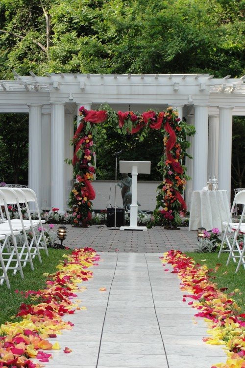 Limelight Floral Design Hoboken NJ wedding flowers Chuppah