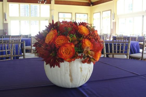 Liberty house Holloween wedding flowers