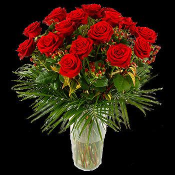 Dozen roses hoboken