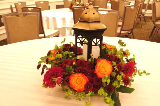 Westin morristown wedding flowers