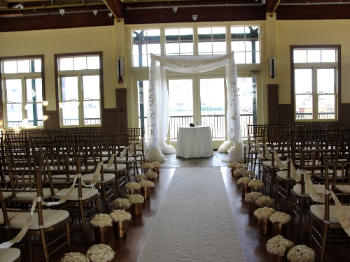 Chuppah at Liberty House Restaurant
