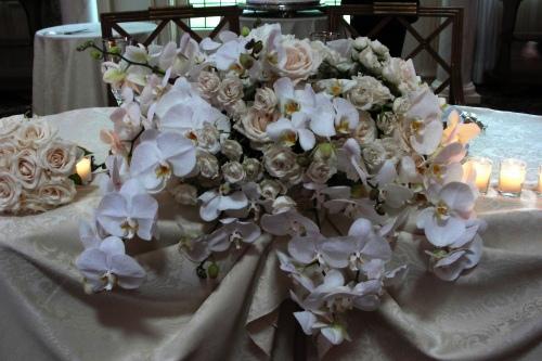pleasantdale chateau wedding bridal table