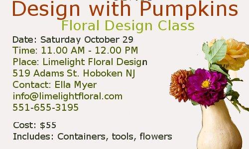 floral design class hoboken nj