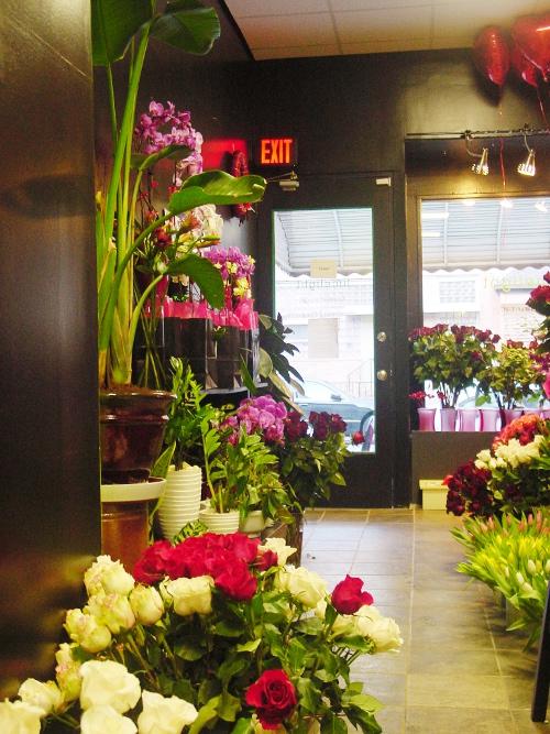 Flower Shop Valentine's Day Hoboken NJ