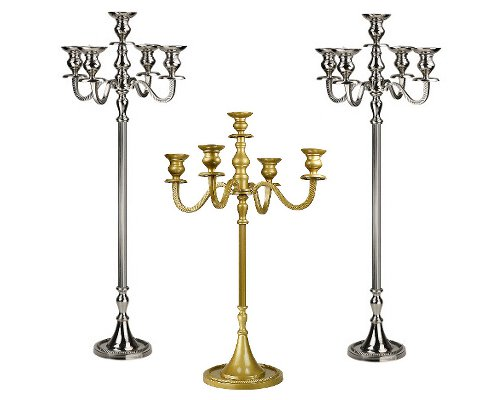 Rent Wedding candelabras in NJ and NY