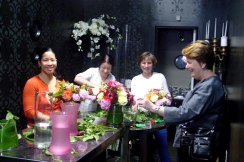 Glorious Peonies Floral Design Class - Hoboken NJ