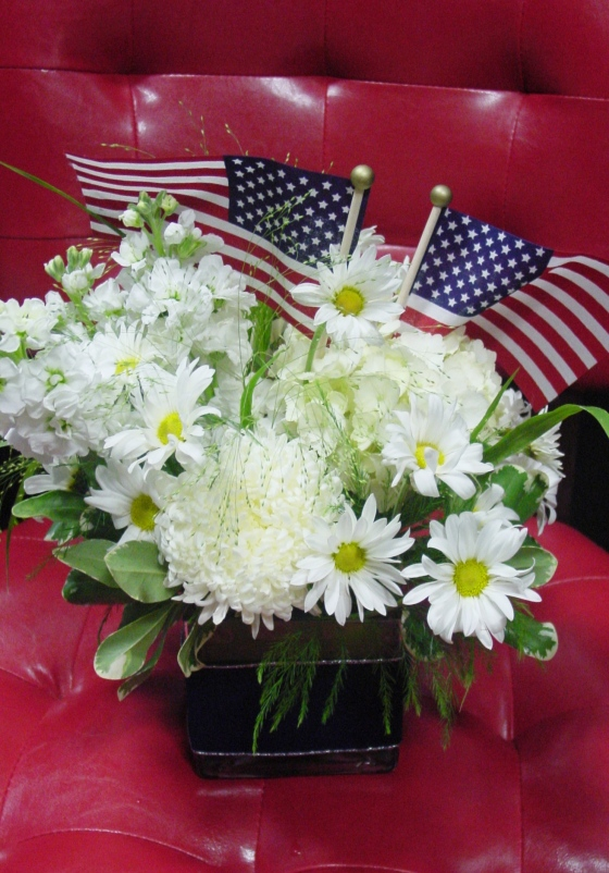 4t of July Flowers