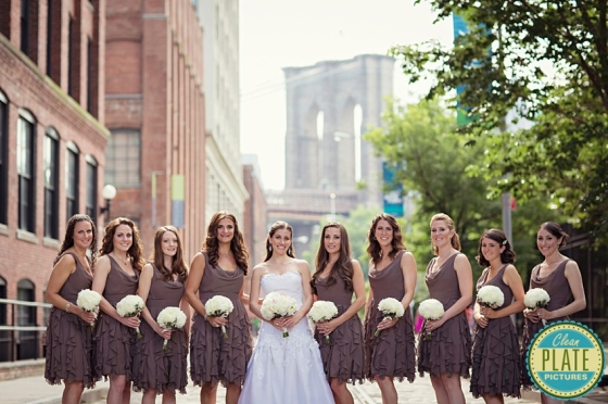 Hoboken Florist Bridal and bridesmaids bouquets ReBar Brooklyn flowers wedding