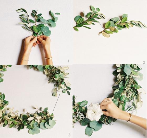 diy-christmas-wreath hoboken nj floral design class