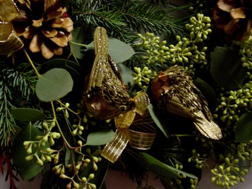 Christmas Wreath class Limelight Floral Design Hoboken NJ florist