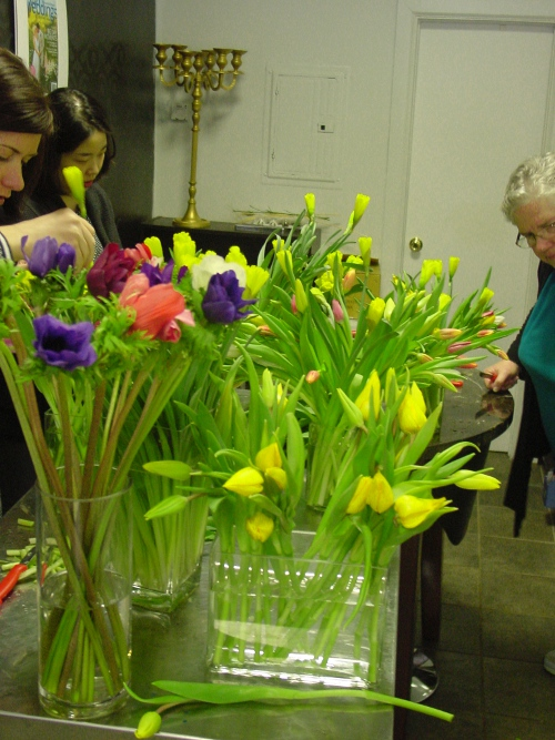 Floral Design Class Hoboken NJ - Limelight Floral Design Florist