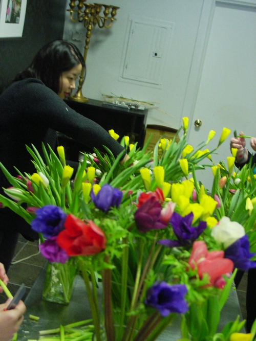 Floral Design Class Hoboken NJ at Limelight Floral Design Florist
