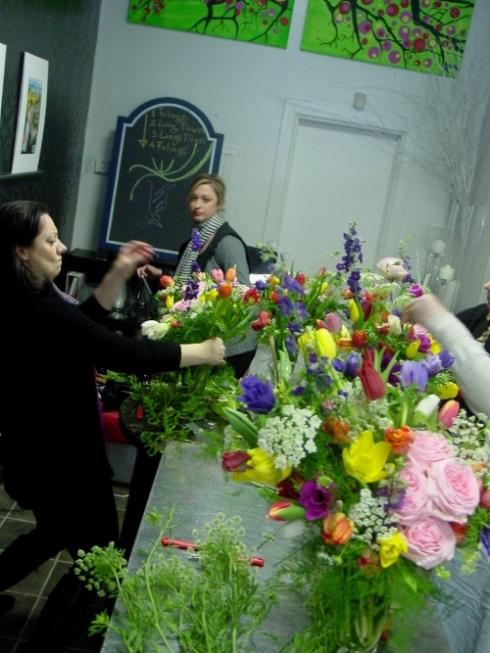 Limelight floral Design Class Hoboken NJ
