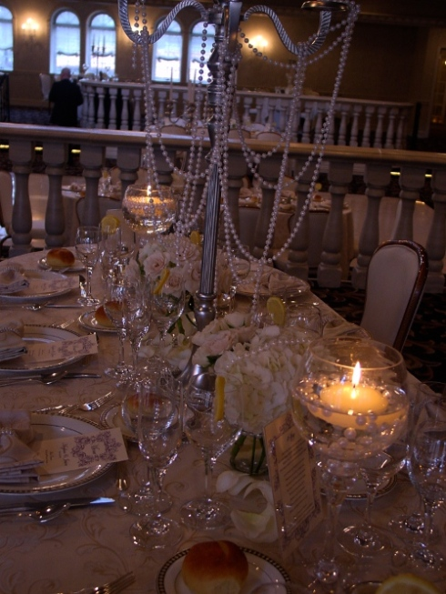wedding at nanina's in the park by Hoboken Jersey city florist