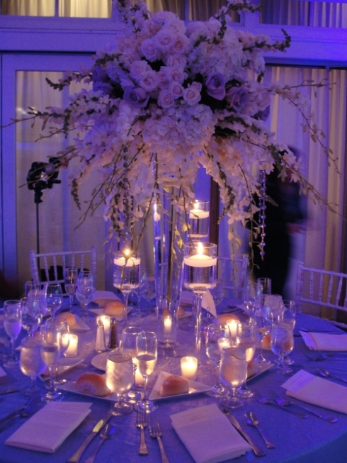 Liberty House Restaurant Jersey City NJ wedding flowers and decor