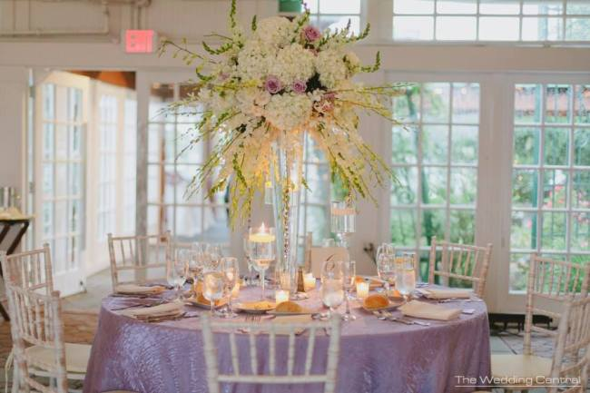 Liberty House Restaurant Wedding Flowers by Limelight Floral Design