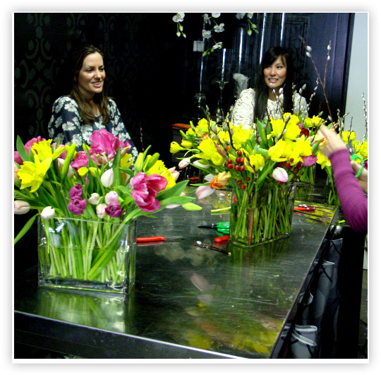 Floral design workshops Hoboken Jersey city