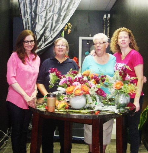 birthday party floral design class NJ