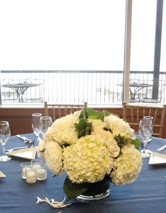 Liberty House Restaurant Jersey City NJ wedding flowers